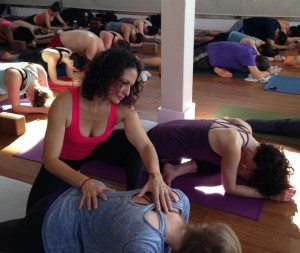 Forrest Yoga hands-on assist clinics - Berkeley CA
